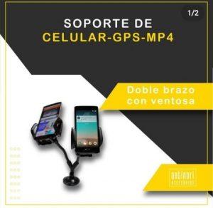 Soporte de celular GPS MP4